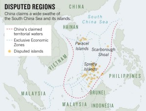 China claim south china sea belong to them whatever is in it belong to them vietnam basically have the seashore