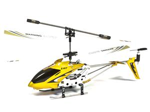 Cheap RC helicopter $18 Syma S107 - Change channels to fly simultaneously