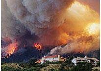 over ten thousands people evacuated in colorado alone due to wild fire that has been spreading over several states