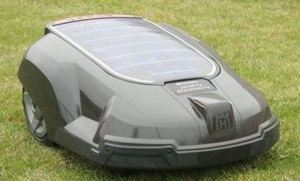 future lawn mower high tech auto cut grass with gps technology