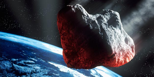 2,300 foot wide rock asteroid will fly by near earth tonight June 14th 2012