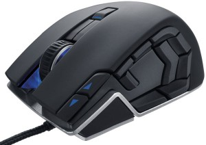 computer gaming corsair vengeance m90 mouse with 15 buttons 5700 dpi $30