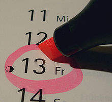 Friday the 13th 2012 the last Friday the 13th before the world will be destroyed something will happen in 12/21/2012