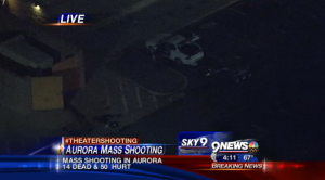 Who's the shooter at century theater aurora colorado that killed more than 12 and injured more than 50?