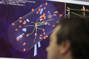 """Is it a hoax fake scam """"boson""""? Two independent studies of data produced by smashing proton particles together at CERN's Large Hadron Collider produced a convergent near-certainty on the existence of the new particle"""