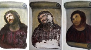 what happen when you let an amateur painter restore a painting?