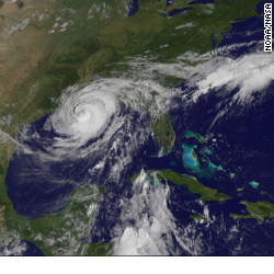 as isaac destroying the gulf coast south from Florida to Texas coast including Louisana Alabama endured Katrina now battling with Isaac it's not easy living in the South or where hurricane and tornado are typical
