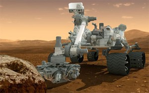 latest Curiosity Rover Mars lander on Mars exploded into pieces all hope gone! just kidding LOL we're still on schedule
