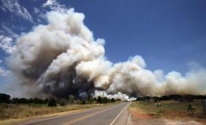 oklahoma city wildfire damage no help big natural disaster in oklahoma city