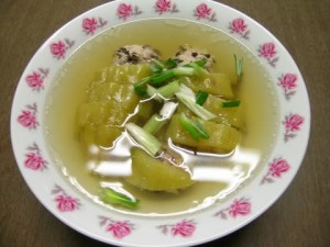 how to cook bittermelon soup Vietnamese canh kho qua help reduce diabetes or possible treatment natural way