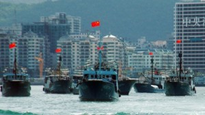 Chinese fishing vessels start to fish on Vietnam legal water south china sea nothing Vietnam can do about it how can vietnam communist defeat china giant communist?