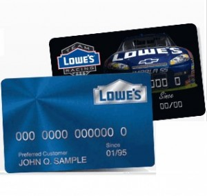 beware of Lowe's credit card from GE Capital bank late fees and interest even they said no interest for 6 12 18 months no mercy