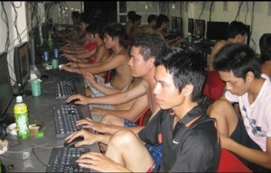 vietnam network internet gaming room in many locations in vietnam