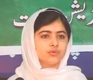 shot in the head for promoting girl's education by the taliban mahalala yousufzai pakistani