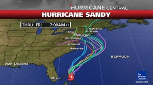 how to prepare for hurrican sandy hitting northeast october 29th 2012 week halloween