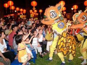 Vietnamese Mid-Autumn festival 2012 Vietnam Cu Lao Tan Thoi Tan Phu Dong Tien Giang Go Cong