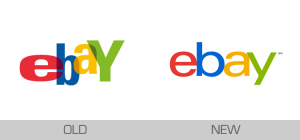old ebay logo and new ebay logo trigger rumor ebay and google had something in common maybe merging soon or one will buy the other?