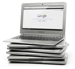 google chromebook laptop netbook computer for $249 you can get it for free in some places where promotional offers available