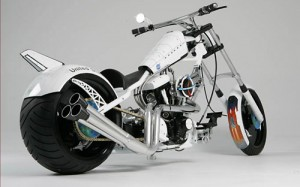 NASA motorcycle bike built by American Chopper not as high-tech as expected just cool look