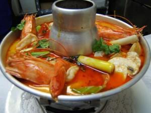 Canh Chua Thai - Thailand hot sweet spice sour soup