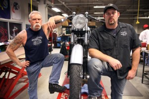 American Chopper TV show sucks! NO it's not I think it's awesome even not a real bike fanatic