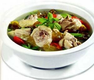 Canh Chua Ga - Chicken Sour Soup