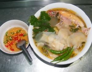 Canh Chua Mang - Bamboo shoots sour soup
