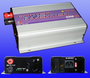 save money on monthly electric bill by using a grid tie inverter