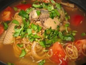 Canh Chua Luong - Eel Sour Soup