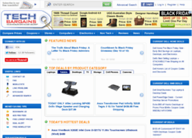 fake techbargains advertisement to get DELL and other online retailers traffic posting fake low price sales