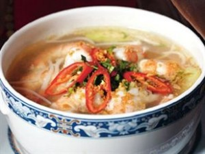 Canh Chua Thom Nau Tep - pine apple sour soup