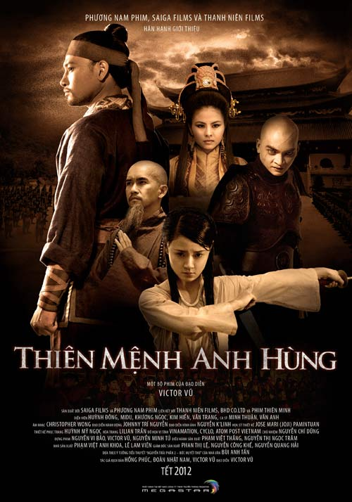 download vietnamese 2012 movie Thien Menh Anh Hung or watch it live on youtube