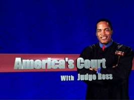 Judge Ross very good reality TV show original judge what a judge should be forget Judge Judy LOL