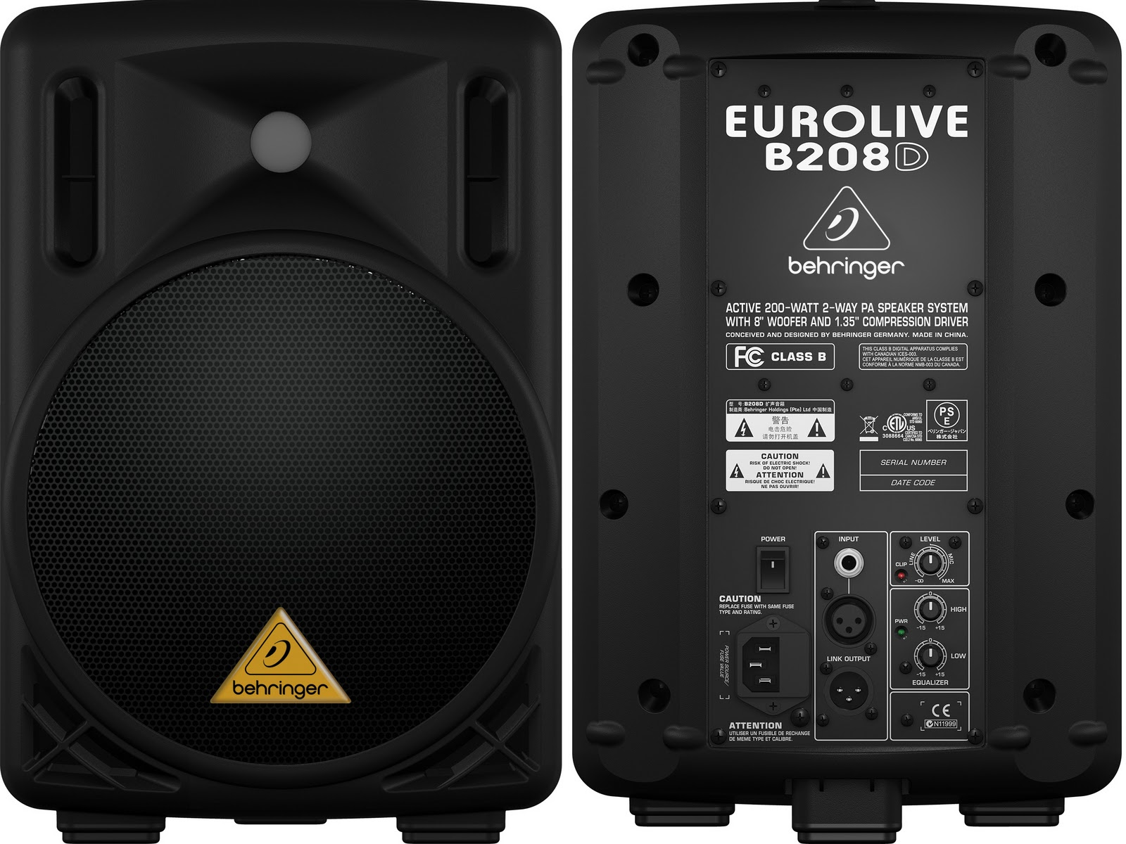 very good loud speaker for stage monitor or public address PA or even home band very powerful 8 inch speaker