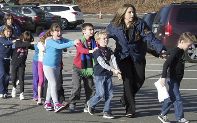 sandy hook elementary school shooting traumatized the whole nation and the world violent can happen anywhere