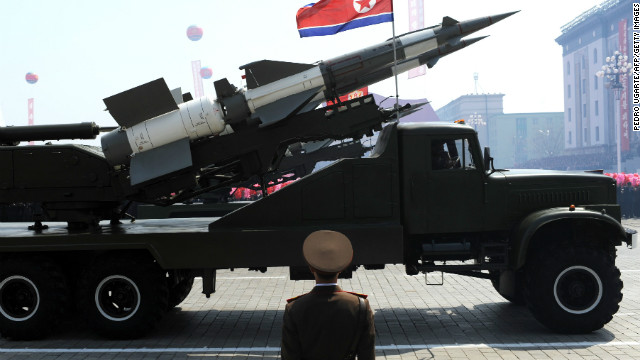 North Korea threaten to attack USA with rockets and missile as part of their new nuclear weapons program, to me it's more of a threat to destroy USA with a sling shot LOL