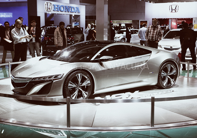 2015 Acura NSX Concept Car is like the latest version of a Lamborghini
