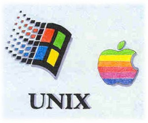 windows apple linux all based on unix original operating system for any computer