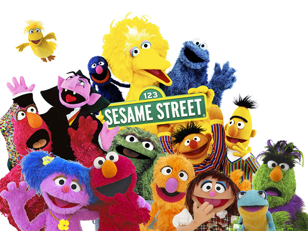 how to teach your kids manners and communicate nicely without leaving your home or interact with other kids - Sesame Street public television all day long