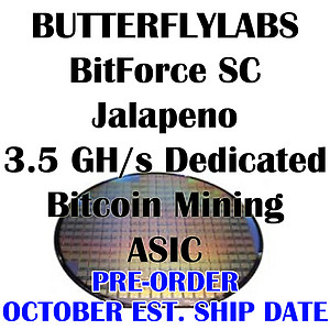 Butterfly Labs started shipping ASIC units