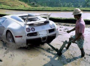 Exotic car will be so cheap that we will be using it for farming replacing the cattle soon