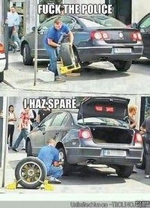 how to get away with parking authority locking your car tire due to unpaid parking ticket?