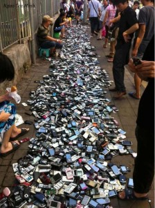 where are your old cell phone?