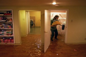how to prevent basement water flood due to bad water pipe