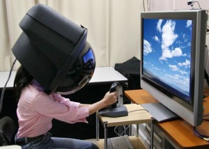3D virtual reality helmet that will blow you away