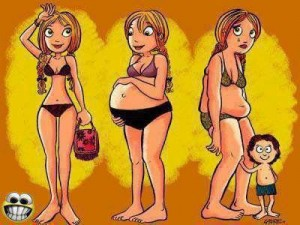 woman and their lives from childhood teenage youth years to marriage having kids and raising them LOL