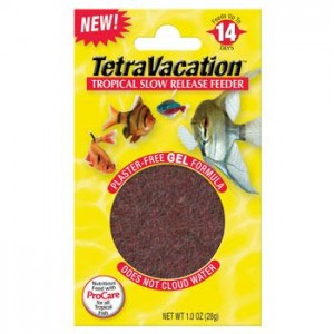 feed fish over the week end when you're away automatically without automatic device