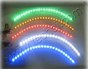 car headlight LED light strip creativity is unlimited how to