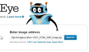 search by image on the internet to show which websites have your images or pictures