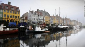 Denmark was listed as the top 1 world happiest country in 2013
